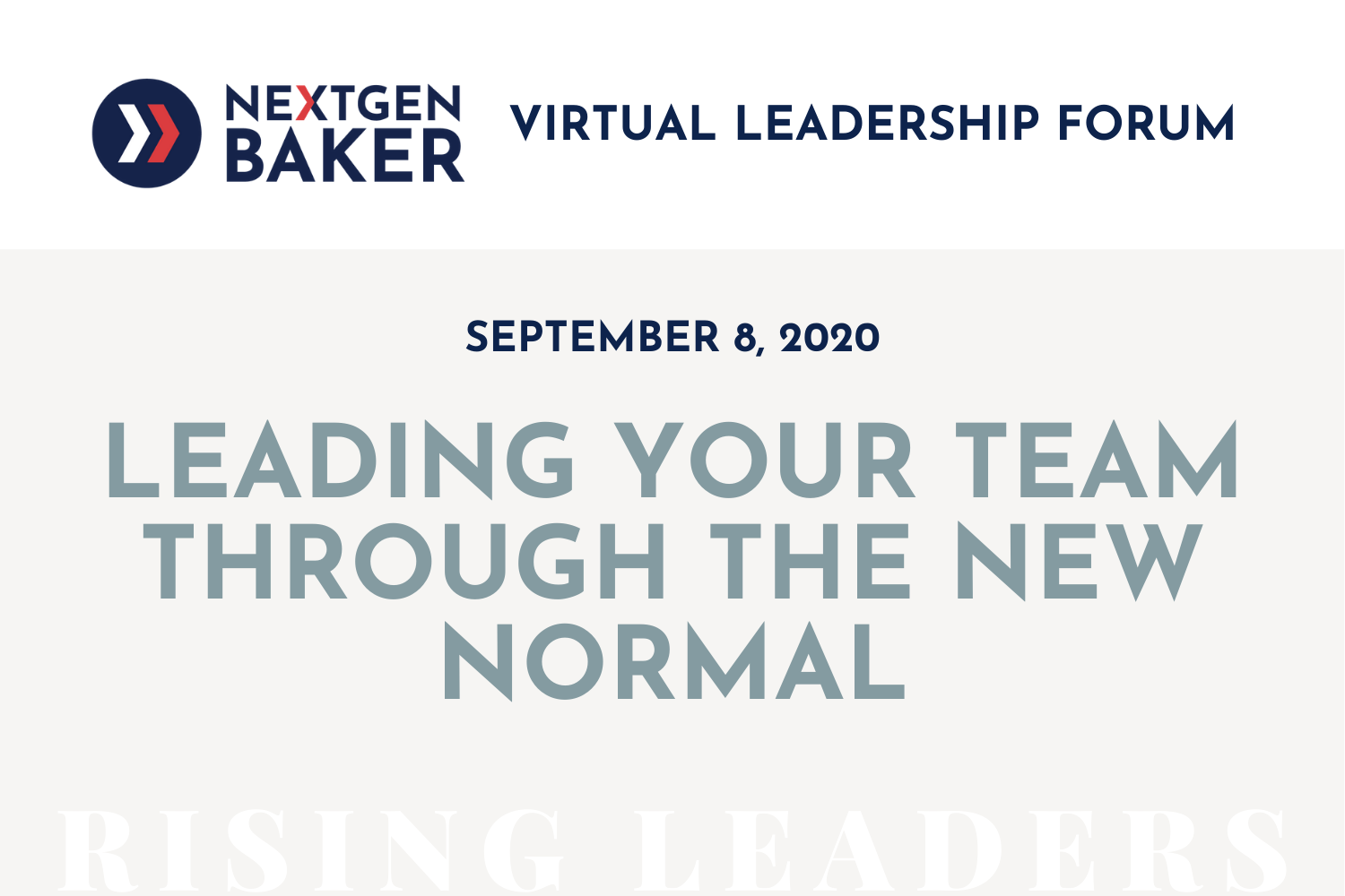 ngb Leading Your Team Through the New Normal