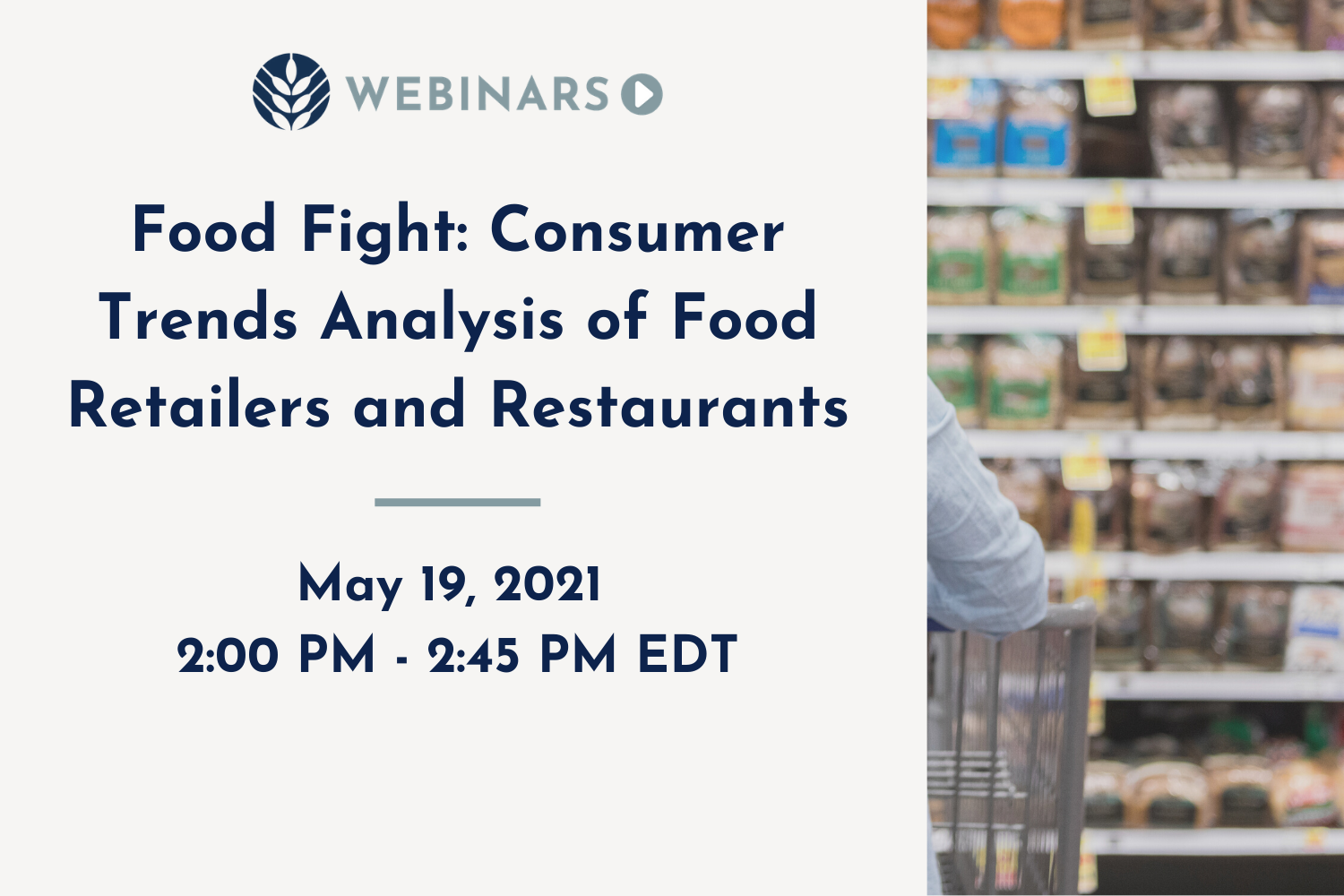 Food Fight Webinar May 2021