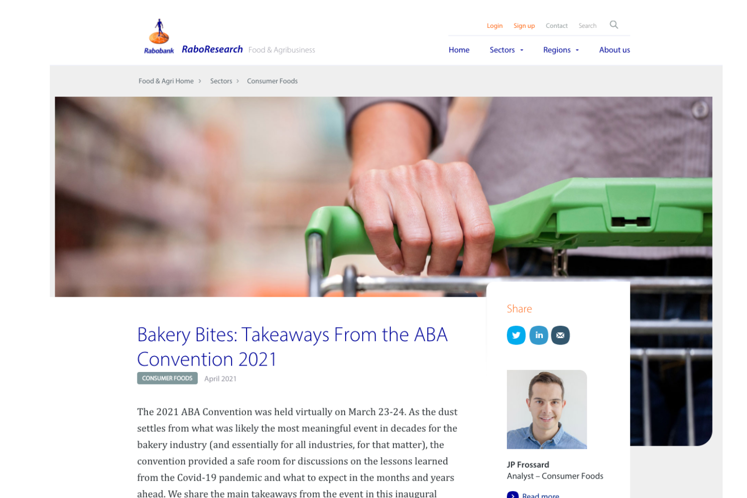 rabobank 2021 aba convention
