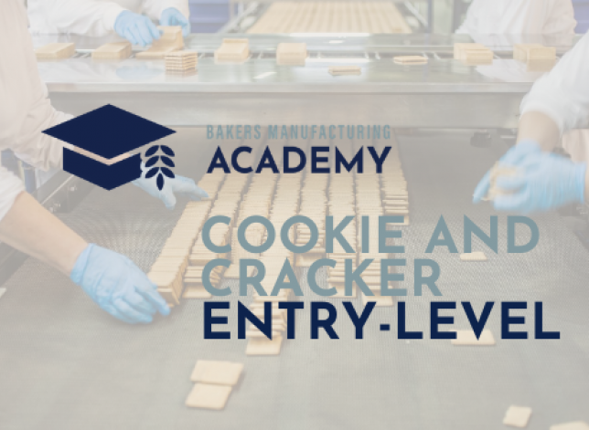 COOKIE AND CRACKER ENTRY LEVEL
