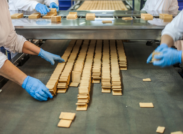 baking facility crackers