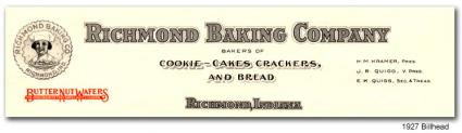 Richmond Baking 1927